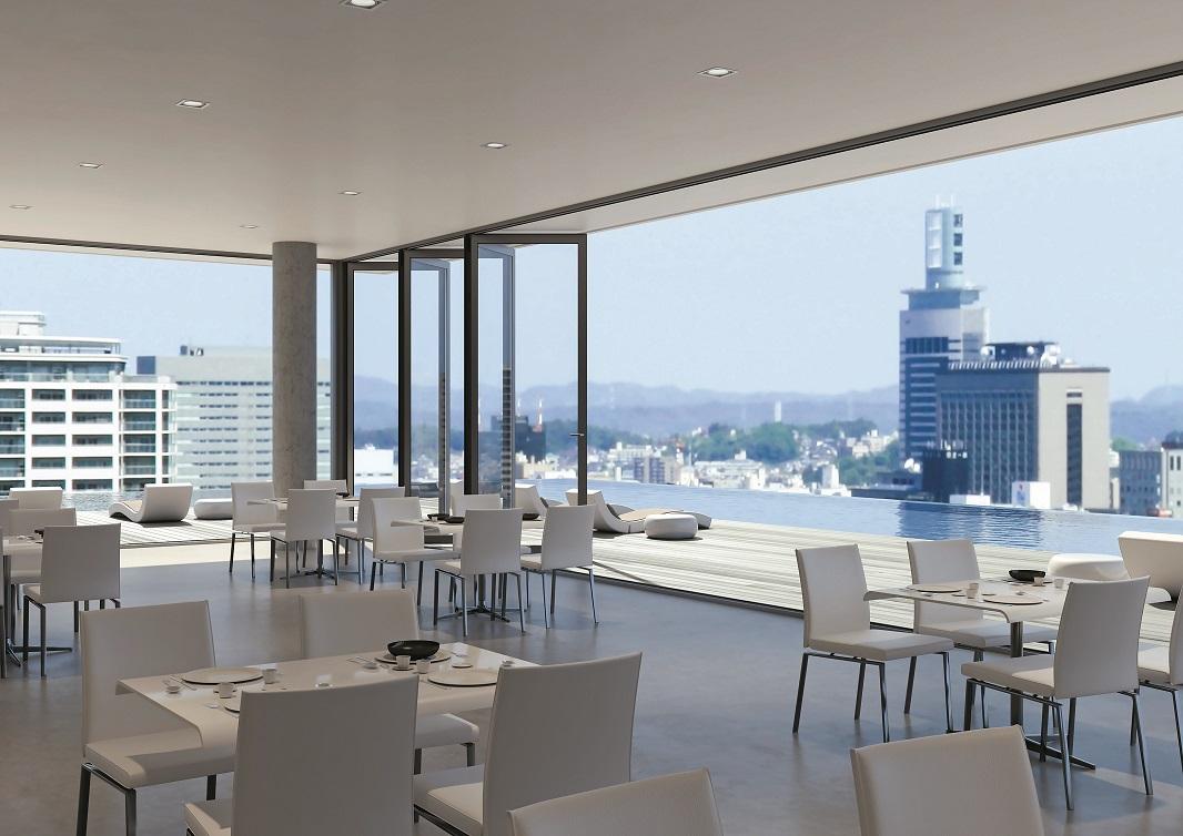WICSLIDE 75FD_Restaurant open_inside